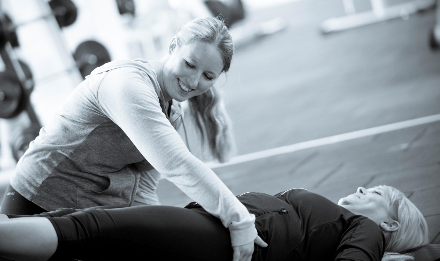 Personlig træning med fokus på velvære